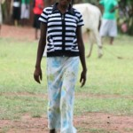 Future captain of Uganda womens cricket team