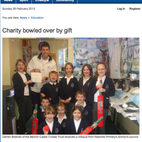 Bowled over by Primary School's fundraising
