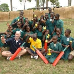DAY FOUR - Redmile School's Red Bats - your donations in action
