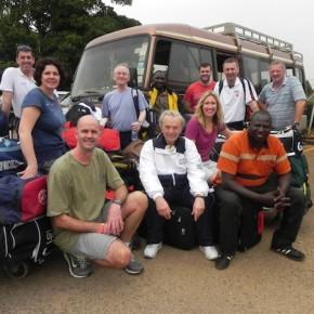 DAY ONE - Arriving in Uganda