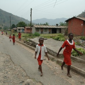 DAY NINE - Walking Miles and Climbing Mountains for their Education (and Cricket!)