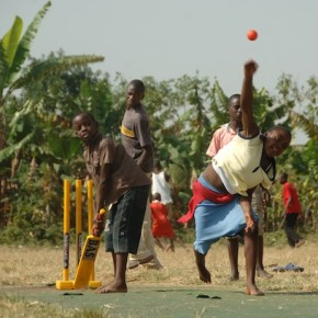 DAY 13 - We discover a cricket wicket, on the radio again - and CWB does basketball